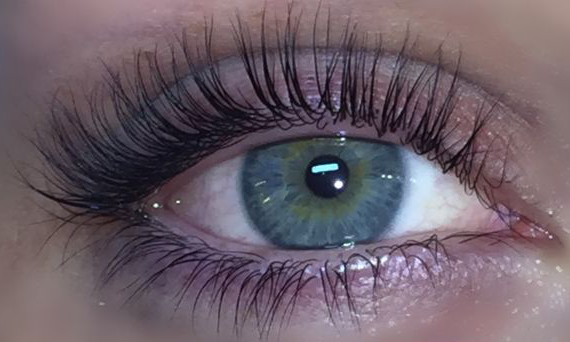 keratin lash lift after pic 4